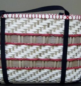 Woven Designs Cherry Mocha Tote--Pattern
