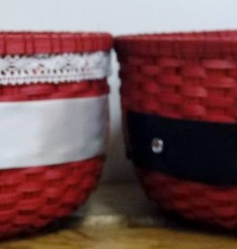 Woven Designs Mr and Mrs Clauss Cookie Basket--Pattern