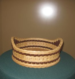 Woven Designs Cheese and Cracker Basket Pattern