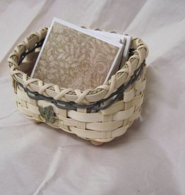 Woven Designs Coaster Caddy Basket Pattern