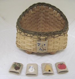 Woven Designs Triangular Treasure Trove Basket Pattern