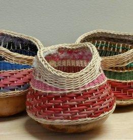 Woven Designs Gourd Sampler Basket Pattern