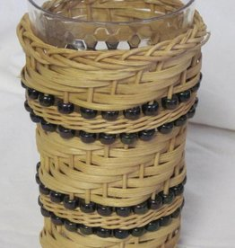 Woven Designs Beaded Vase Basket Pattern