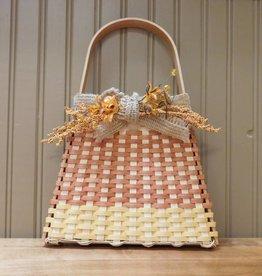 Woven Designs Candy Corn Wall Basket Pattern