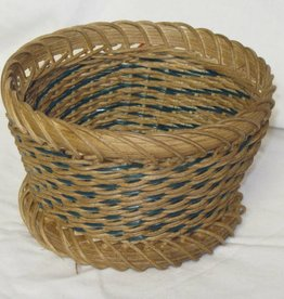 Woven Designs Delicate Spiral Basket Pattern