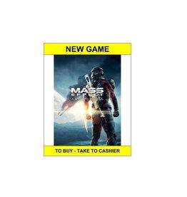 Playstation 4 Mass Effect Andromeda (PS4,New)