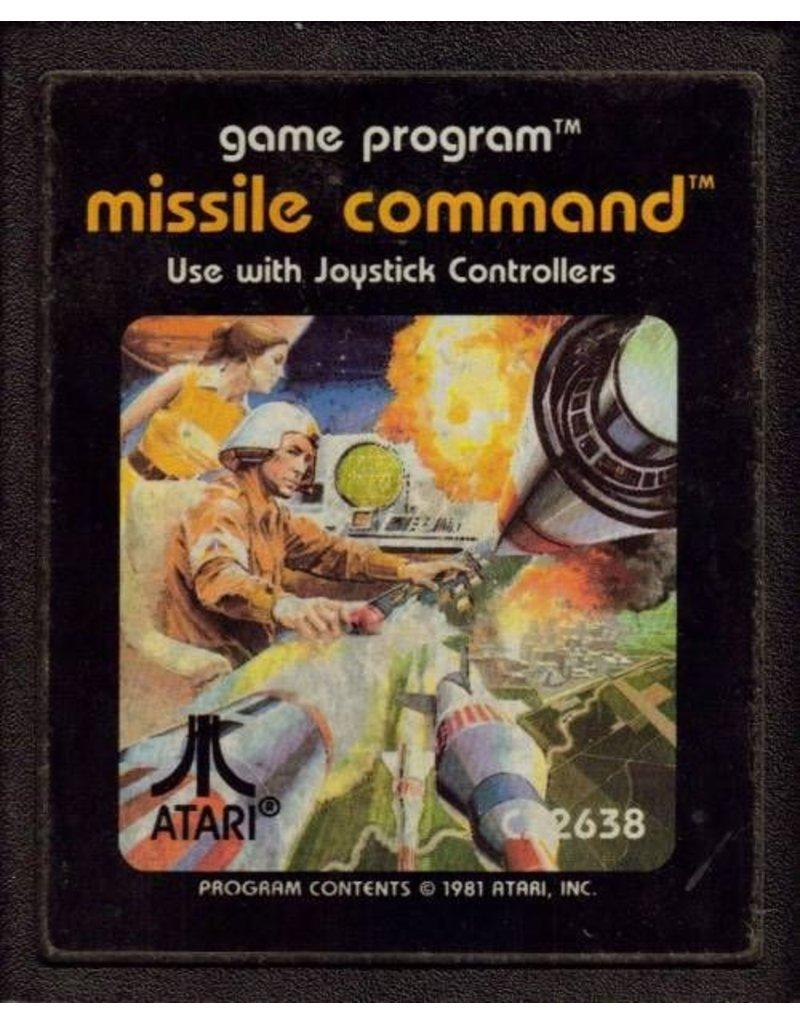 Atari 2600 Missile Command