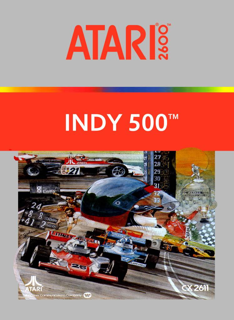 Atari 2600 Indy 500