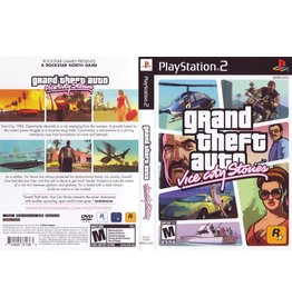 Playstation 2 Grand Theft Auto Vice City Stories GTA
