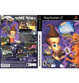 Sony Playstation 2 (PS2) Jimmy Neutron Attack of the Twonkies