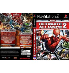 Sony Playstation 2 (PS2) Marvel Ultimate Alliance 2