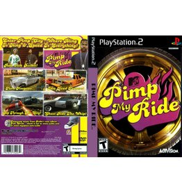 Playstation 2 MTV Pimp My Ride