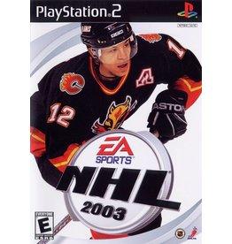 Playstation 2 NHL 2003