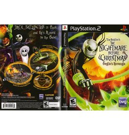 Sony Playstation 2 (PS2) Nightmare Before Christmas Oogies Revenge