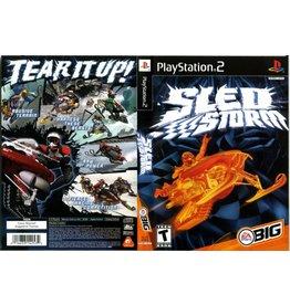 Sony Playstation 2 (PS2) Sled Storm