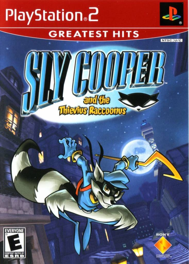 Sony Playstation 2 (PS2) Sly Cooper