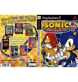 Sony Playstation 2 (PS2) Sonic Mega Collection Plus