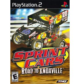 Sony Playstation 2 (PS2) Sprint Cars Road to Knoxville