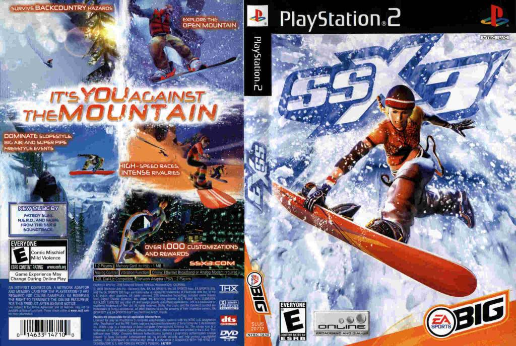Sony Playstation 2 (PS2) SSX 3