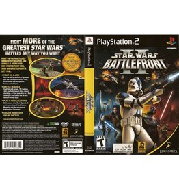 Playstation 2 Star Wars Battlefront 2