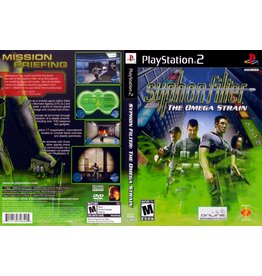 Playstation 2 Syphon Filter Omega Strain
