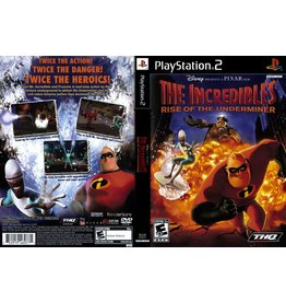 Playstation 2 The Incredibles Rise of the Underminer