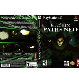 Sony Playstation 2 (PS2) Matrix Path of Neo