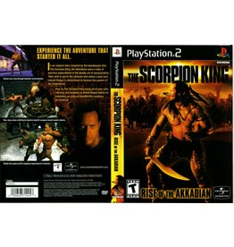 Playstation 2 The Scorpion King Rise of the Akkadian