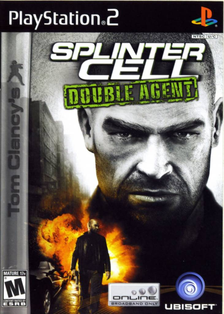 Sony Playstation 2 (PS2) Tom Clancy's Splinter Cell Double Agent