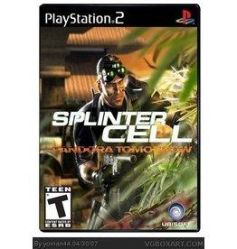 Playstation 2 Tom Clancy's Splinter Cell Pandora Tomorrow
