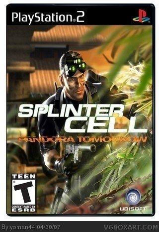 Sony Playstation 2 (PS2) Tom Clancy's Splinter Cell Pandora Tomorrow