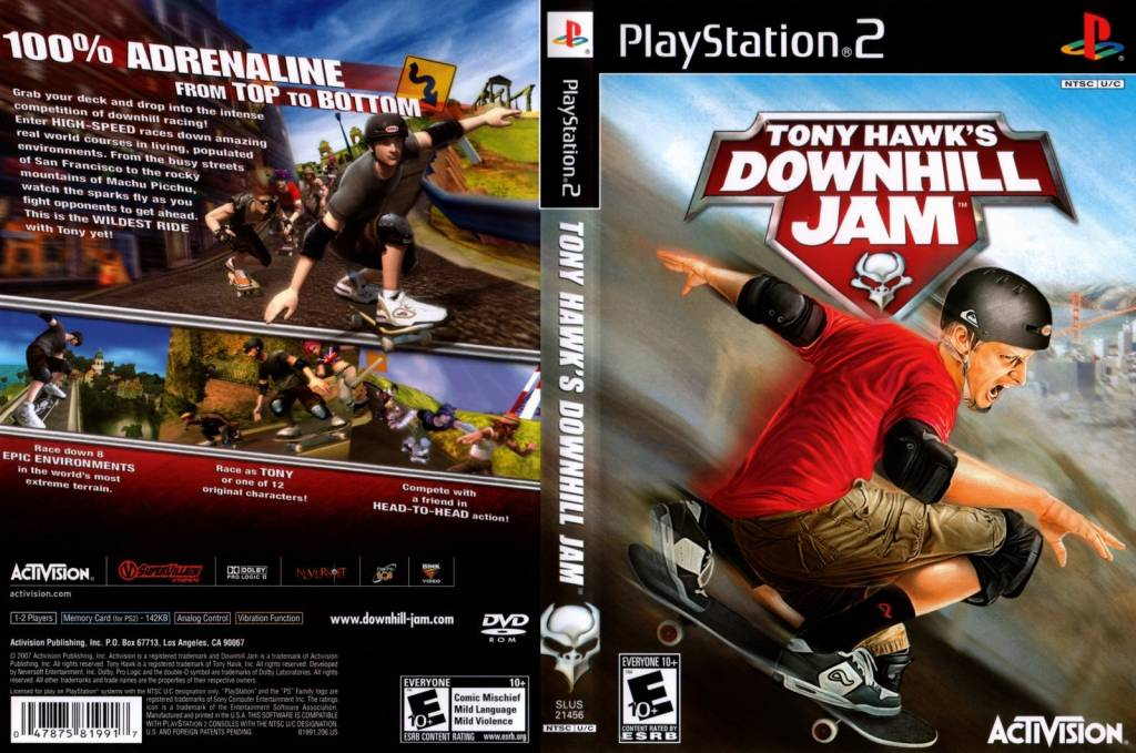 One lucky downhill domination ps2 review