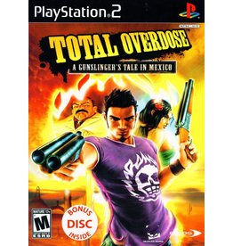 Playstation 2 Total Overdose A Gunslinger's Tale in Mexico