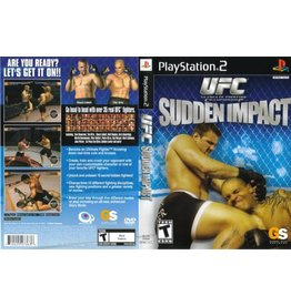 Sony Playstation 2 (PS2) UFC Sudden Impact