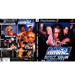 Playstation 2 WWE Smackdown Shut Your Mouth