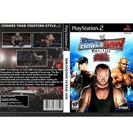 Playstation 2 WWE Smackdown vs. Raw 2008