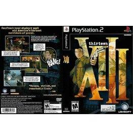 Playstation 2 XIII Thirteen