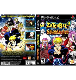 Sony Playstation 2 (PS2) Zatch Bell Mamodo Fury