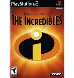 Playstation 2 The Incredibles (New)