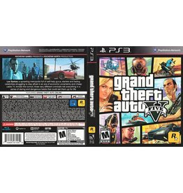Sony Playstation 3 (PS3) Grand Theft Auto V