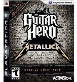 Playstation 3 Guitar Hero: Metallica