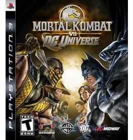 Sony Playstation 3 (PS3) Mortal Kombat vs. DC Universe