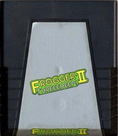 Atari 2600 Frogger II Threeedeep!