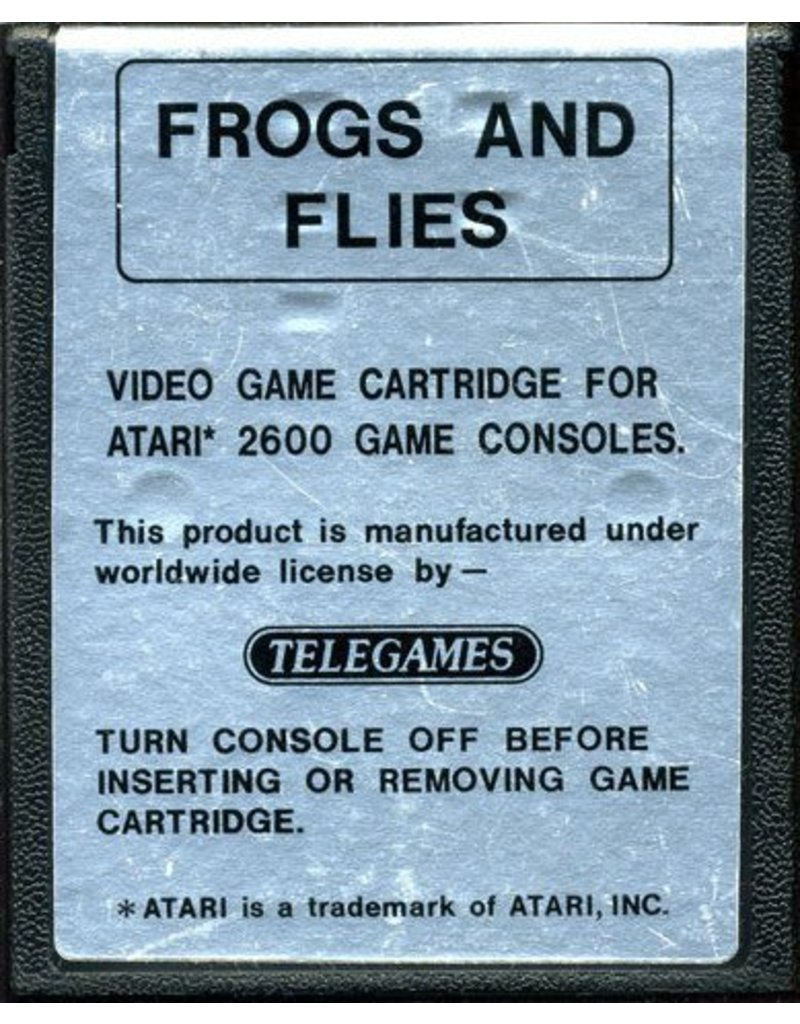 Atari 2600 Frogs and Flies