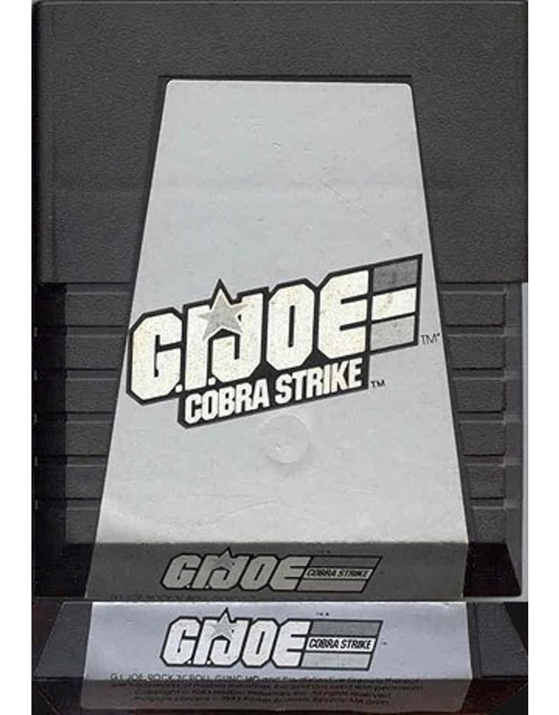Atari 2600 G.I. Joe Cobra Strike