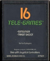Atari 2600 Gunslinger