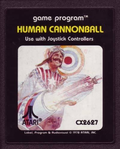 Atari 2600 Human Cannonball