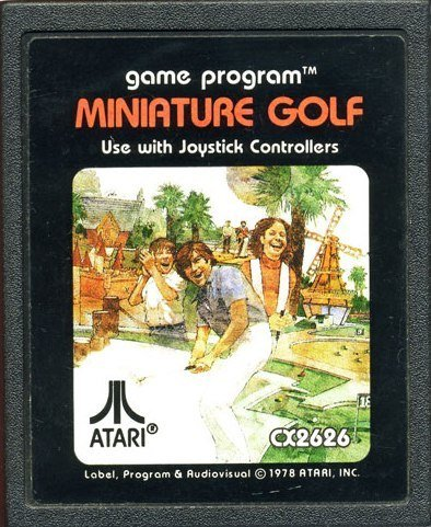 Atari 2600 Miniature Golf