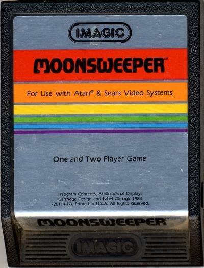 Atari 2600 Moonsweeper