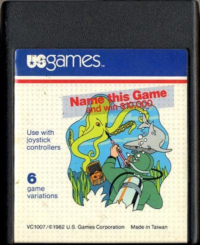 Atari 2600 Name This Game